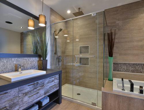 Salle de bains classique polymère - Armoires BIGO