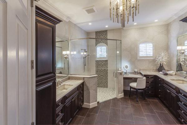 Salle de bains classique polymère